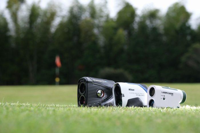 ゴルフ用レーザー距離測定器