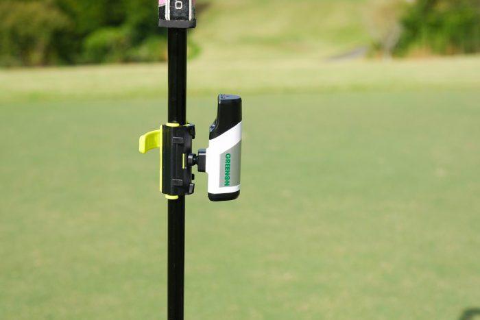 ゴルフスイング練習器具 グリーンオン レーザーパッティング